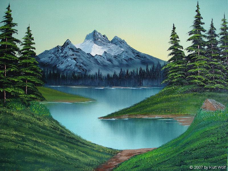 Bob Ross Malerei Gras Malerei Video Youtube